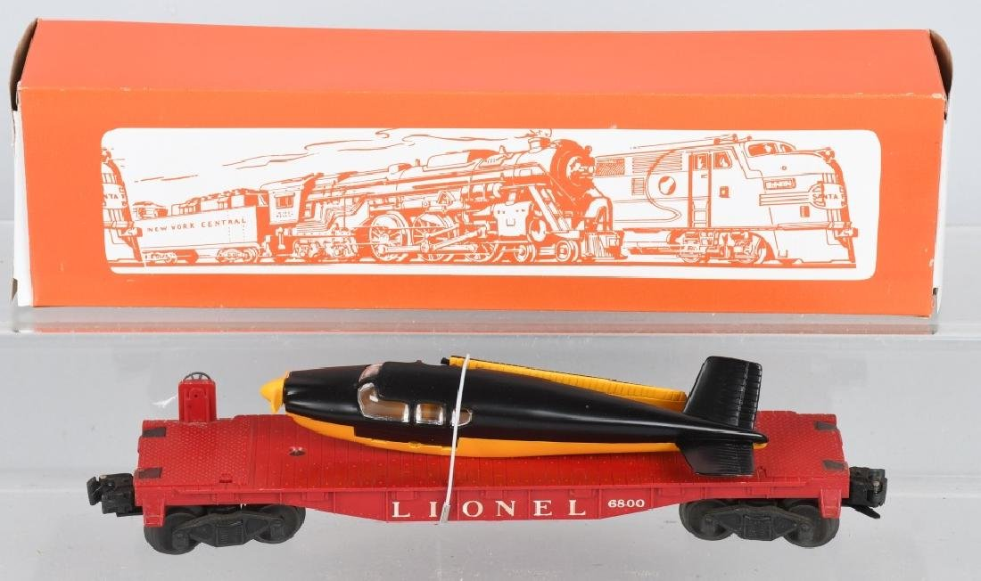 6-LIONEL O GAUGE ROLLING STOCK - 5
