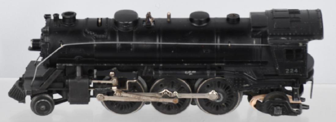 LIONEL 224 ENGINE & 2466W TENDER - 2