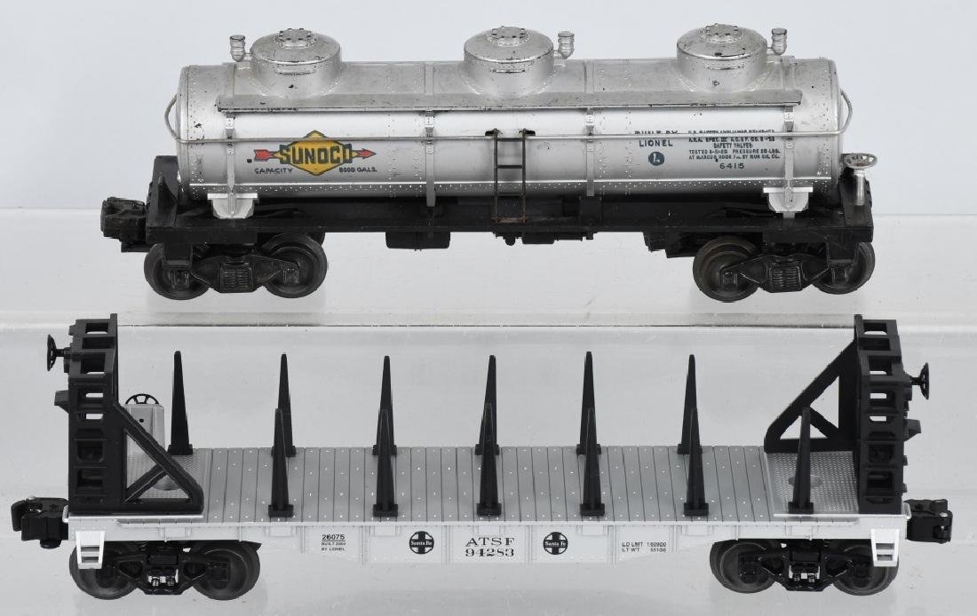 10-LIONEL O GAUGE ROLLING STOCK - 4