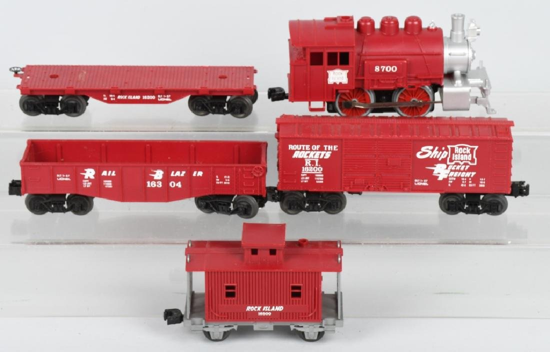 LIONEL ROCK ISLAND SET, ENGINES & MORE - 6