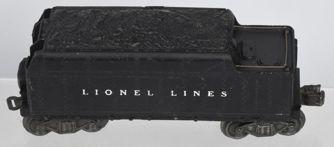 LIONEL No. 2025 ENGINE & 6466WX TENDER - 5