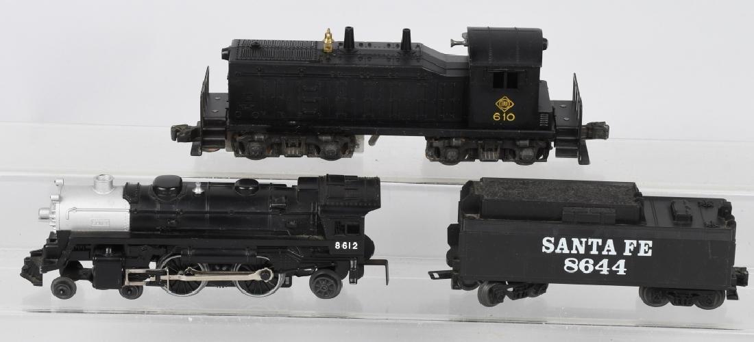 LIONEL No. 610 DIESEL ENGINE & 8612 ENGINE
