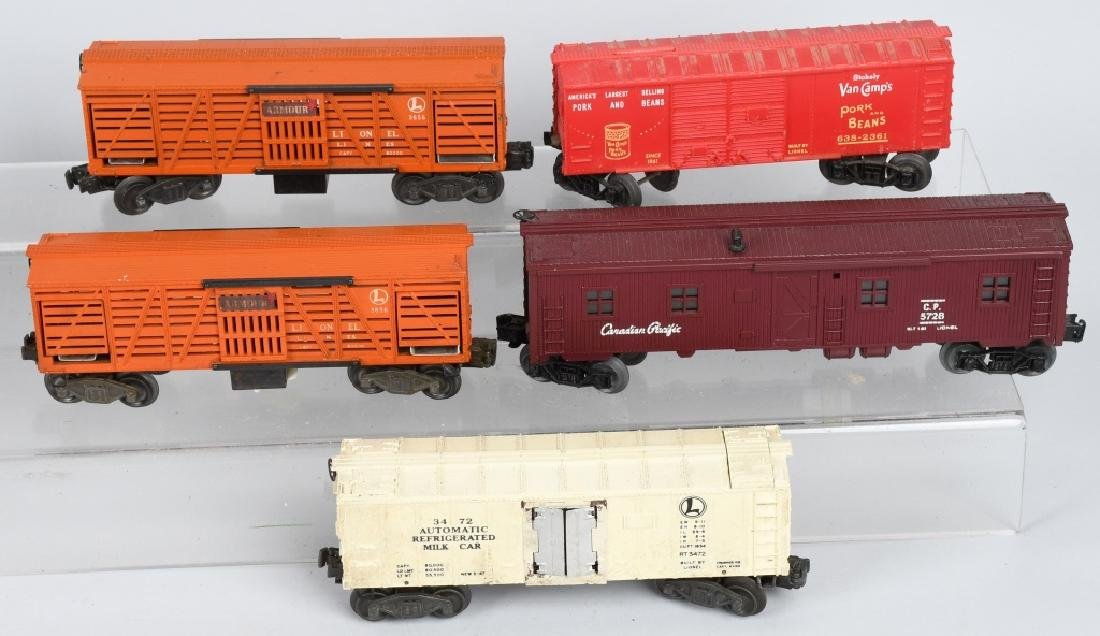 11-LIONEL O GAUGE ROLLING STOCK - 2