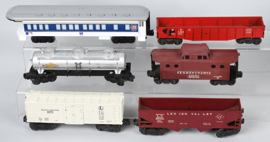 11-LIONEL O GAUGE ROLLING STOCK - 3