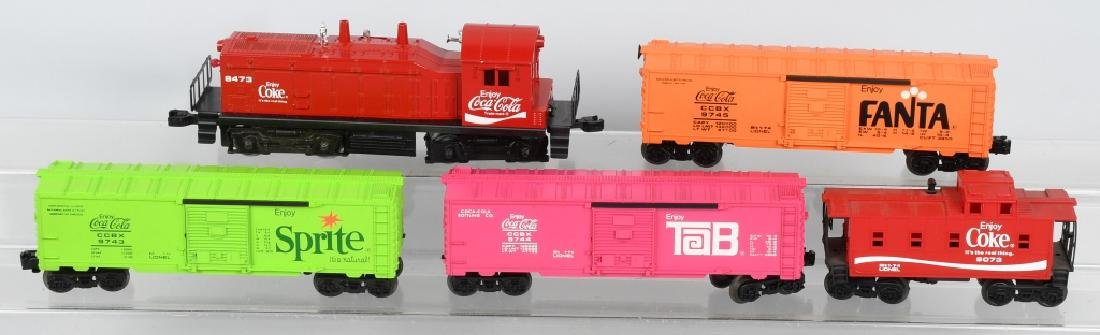 LIONEL COCA COLA TRAIN SET