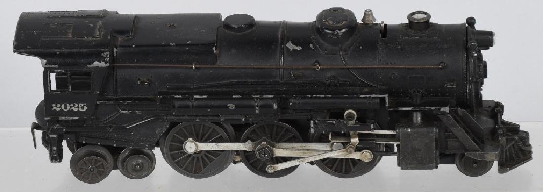 LIONEL No. 2025 & 6466WX TENDER - 2