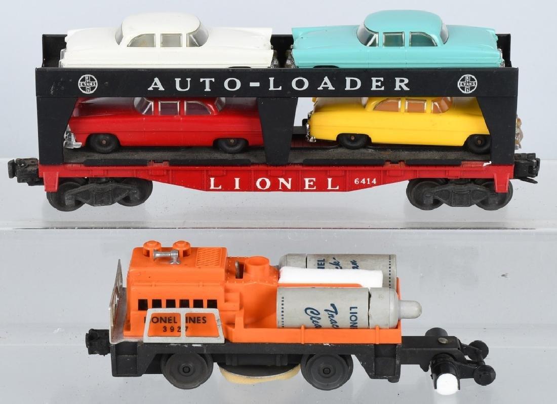 LIONEL O GAUGE AUTO-LOADER & TRACK CLEANER