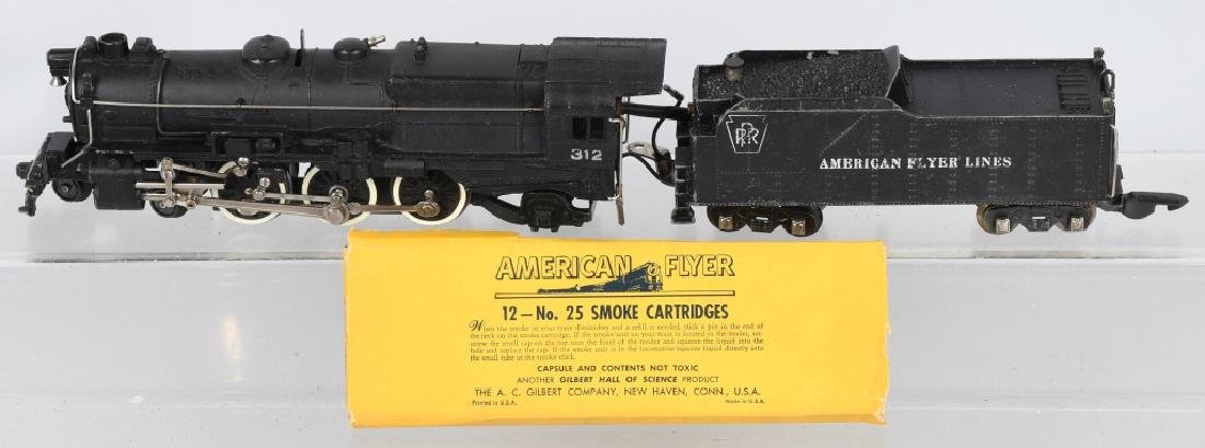 AMERICAN FLYER No. 312 ENGINE & TENDER