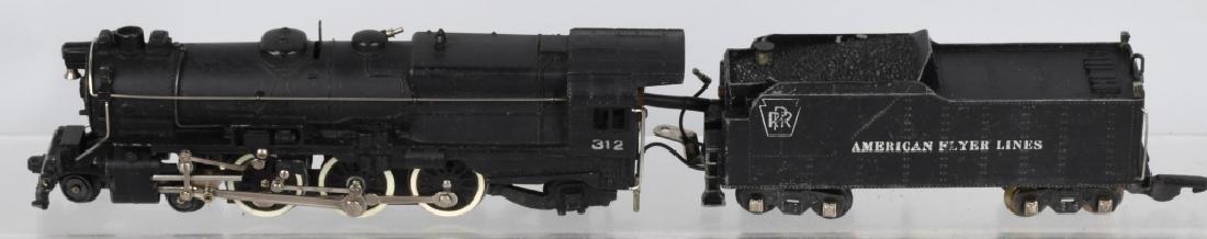 AMERICAN FLYER No. 312 ENGINE & TENDER - 2