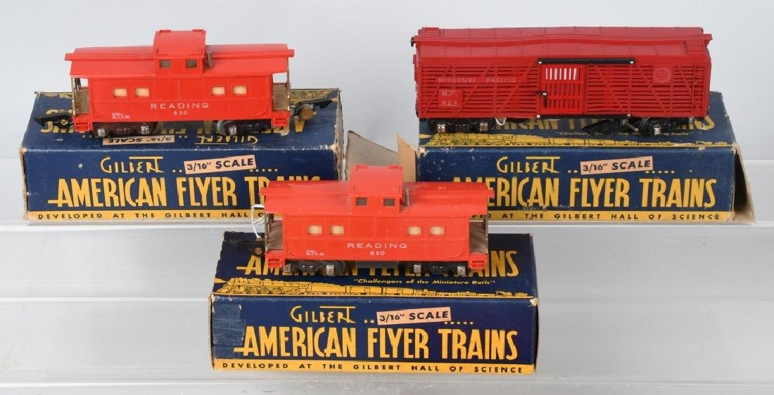 10-AMERICAN FLYER ROLLING STOCK, SEVERAL BOXED - 2