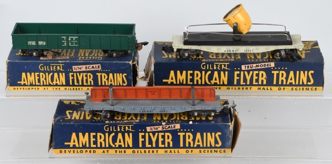 10-AMERICAN FLYER ROLLING STOCK, SEVERAL BOXED - 3