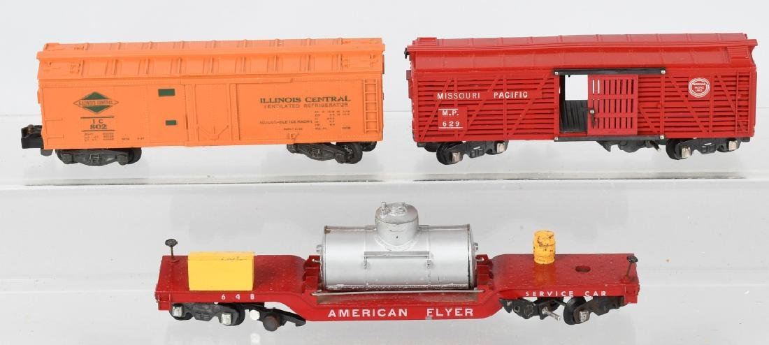 10-AMERICAN FLYER ROLLING STOCK, SEVERAL BOXED - 4