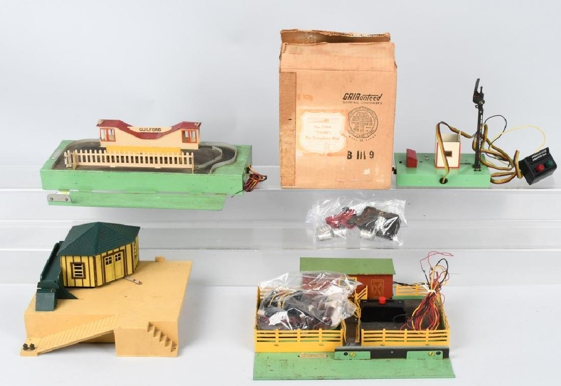 4-AMERICAN FLYER ACCESSORIES