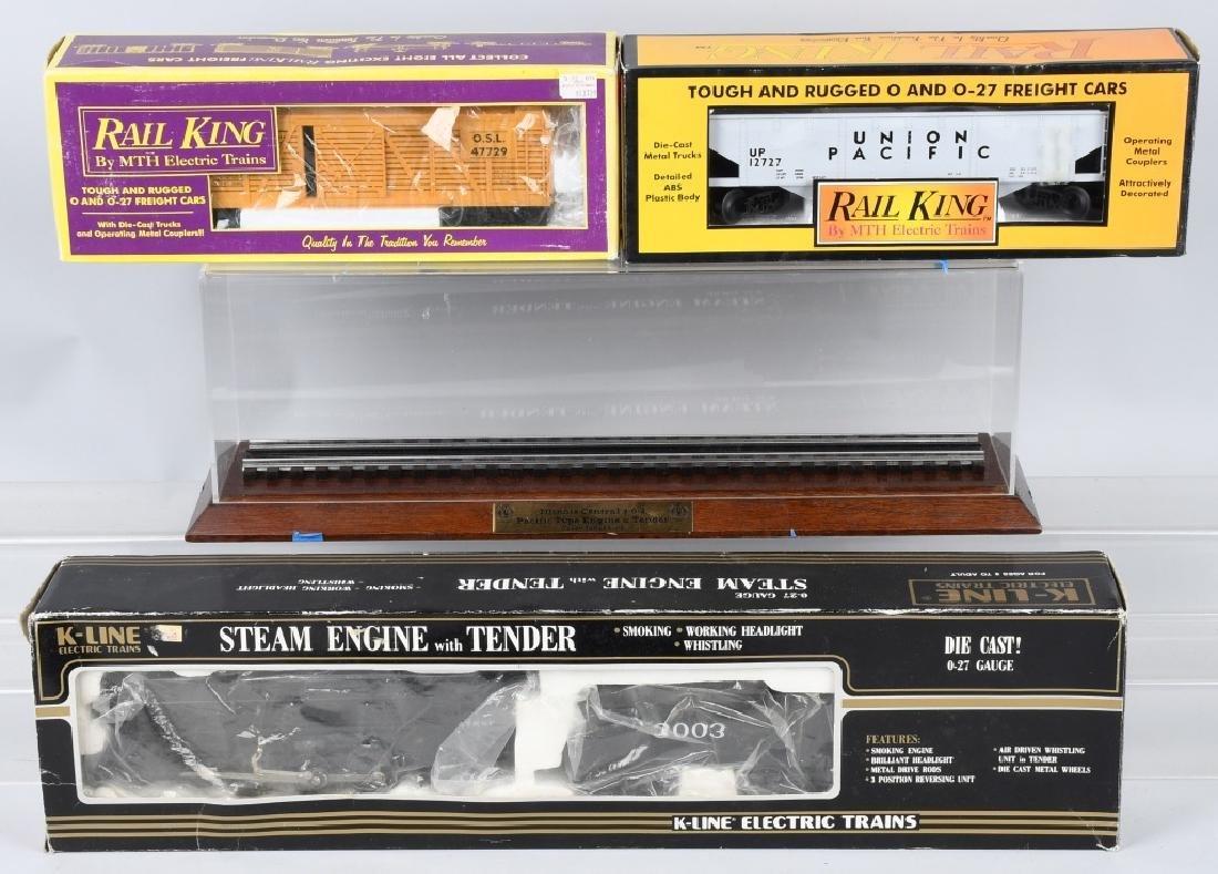 K-LINE No. 3003 ENGINE, BOXED & MORE
