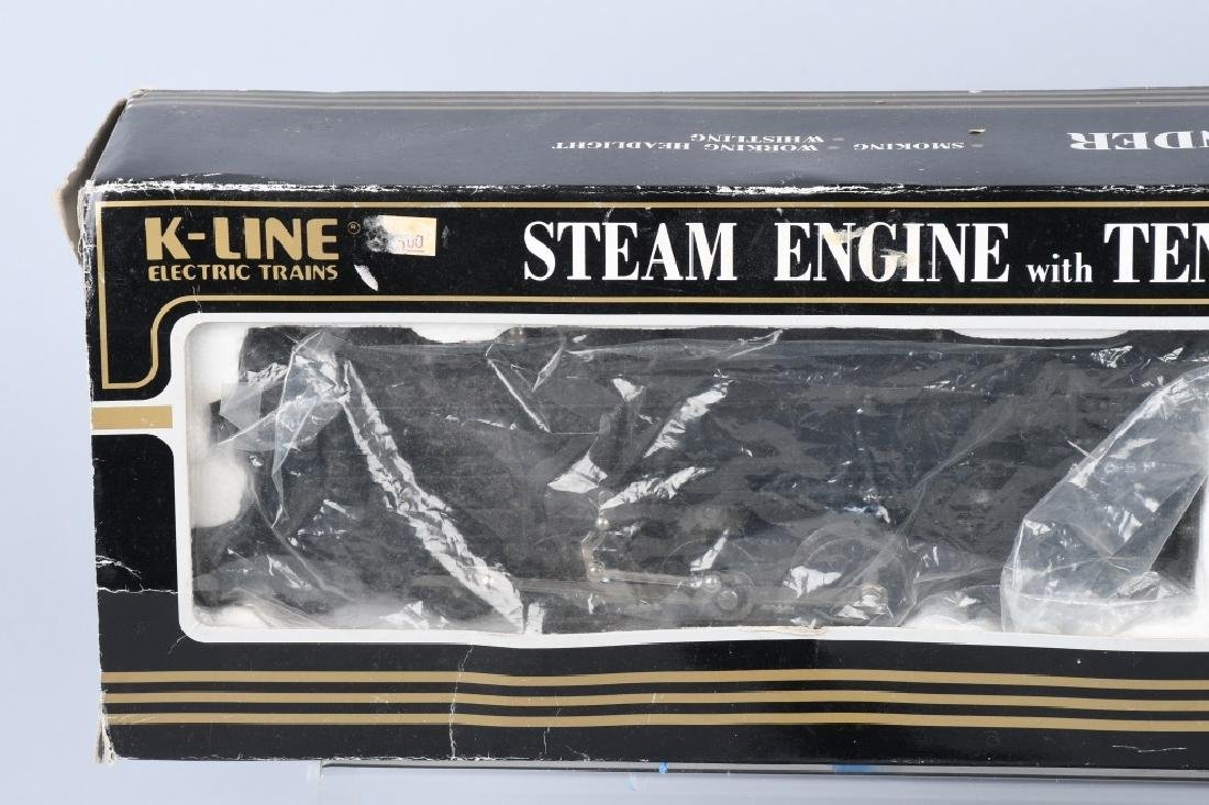 K-LINE No. 3003 ENGINE, BOXED & MORE - 6