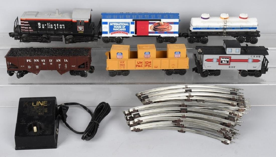 K-LINE BURLINGTON TRAIN SET