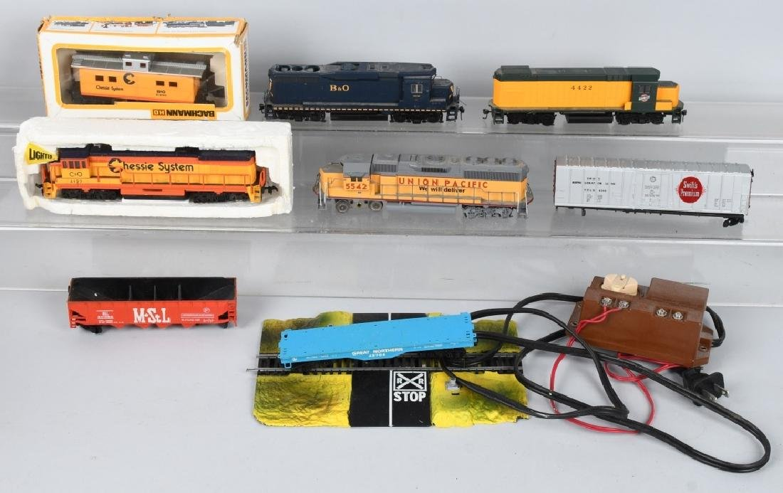 H.O TRAIN ENGINE LOT & MORE