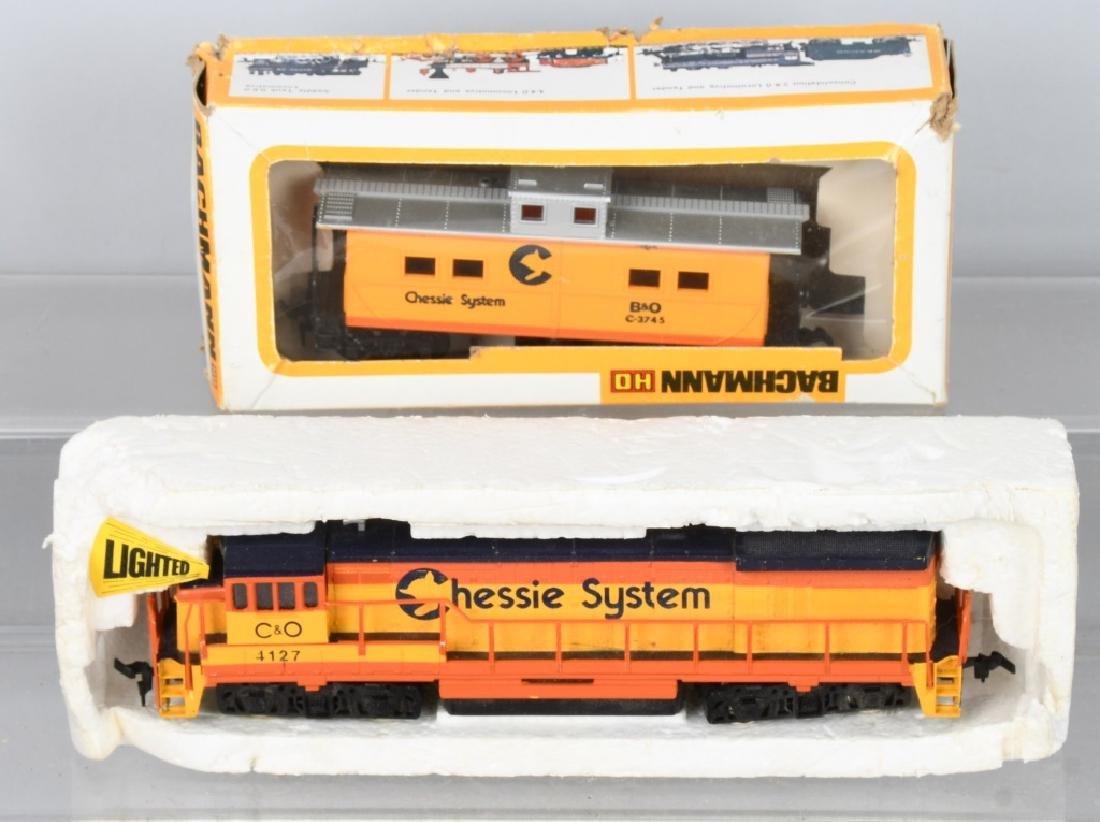 H.O TRAIN ENGINE LOT & MORE - 2