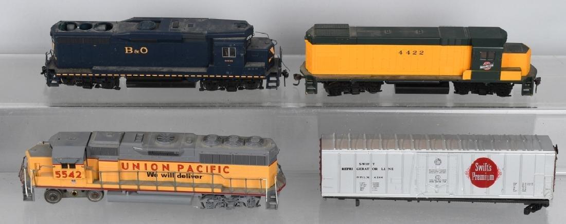H.O TRAIN ENGINE LOT & MORE - 3