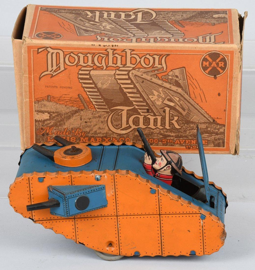 MARX tin windup DOUGHBOY TANK, BOXED