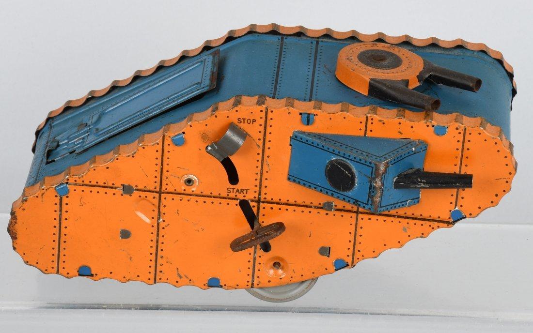 MARX tin windup DOUGHBOY TANK, BOXED - 3
