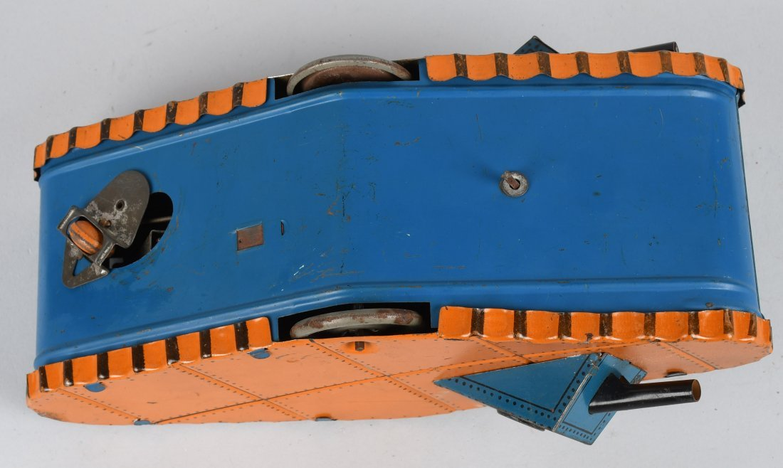 MARX tin windup DOUGHBOY TANK, BOXED - 5