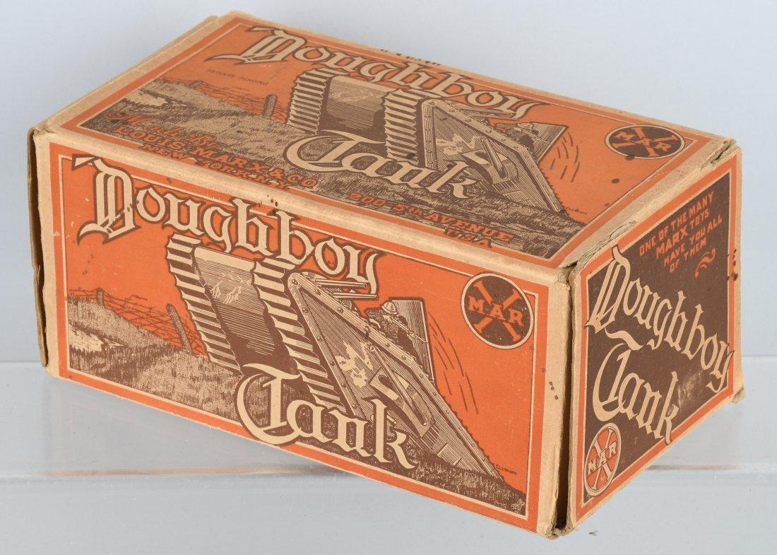 MARX tin windup DOUGHBOY TANK, BOXED - 6
