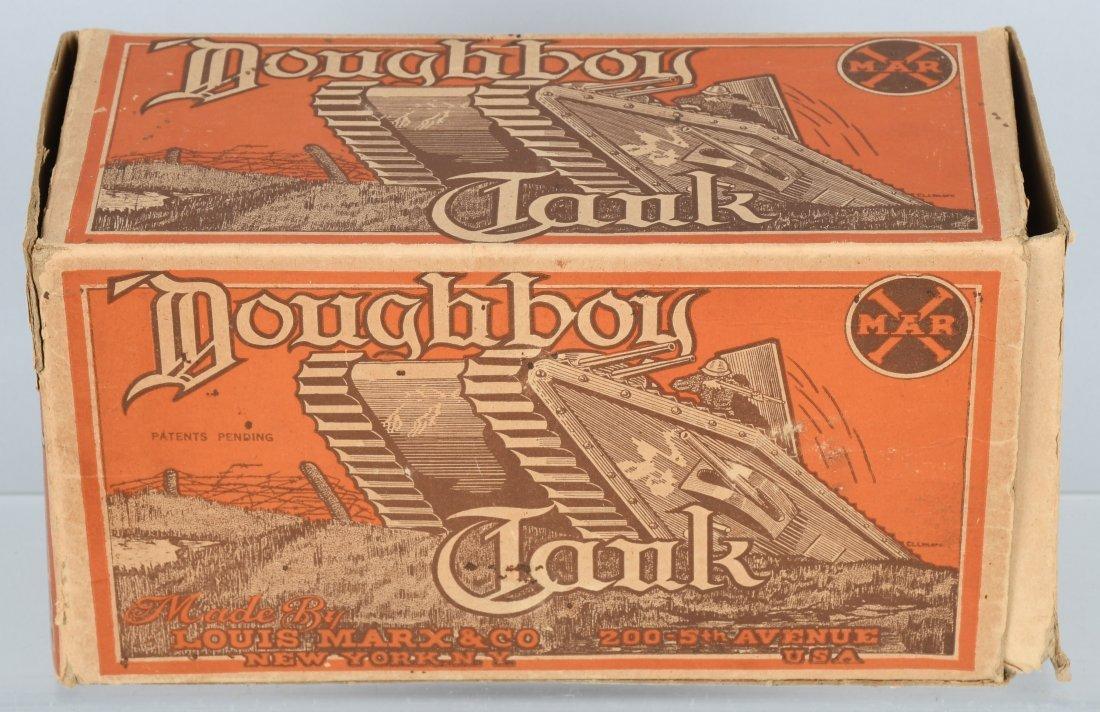 MARX tin windup DOUGHBOY TANK, BOXED - 7