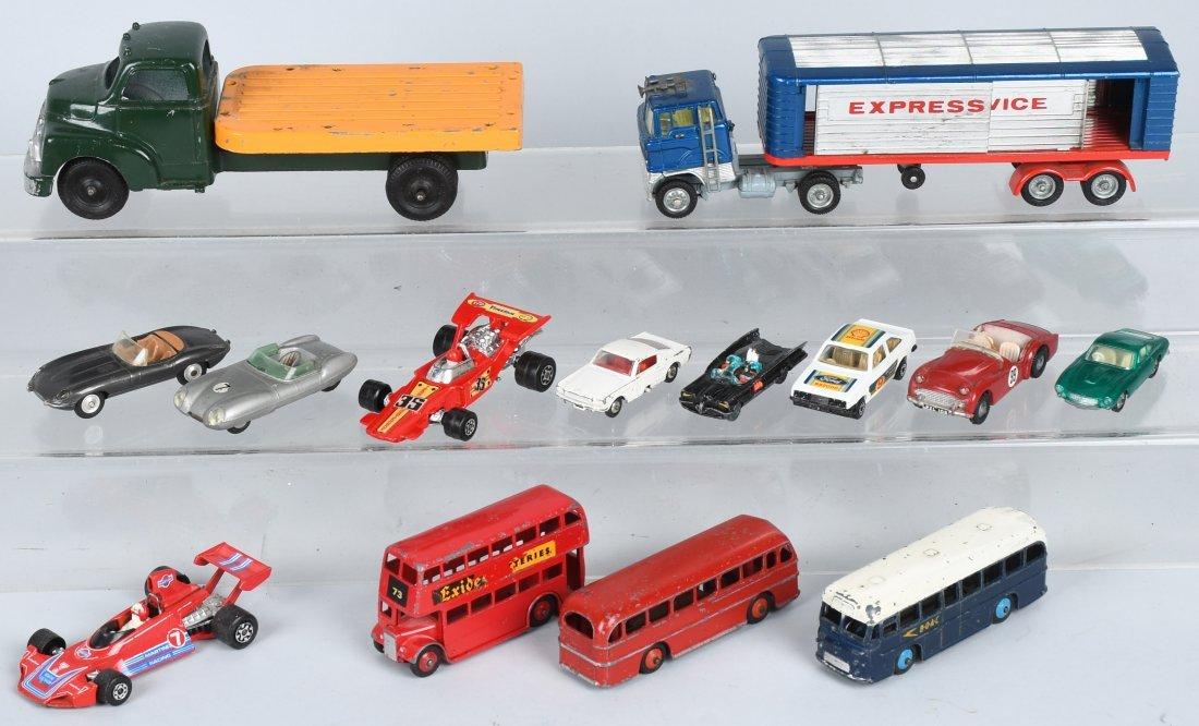 DIE CAST CAR & TRUCK LOT, DINKY, MATCHBOX & MORE