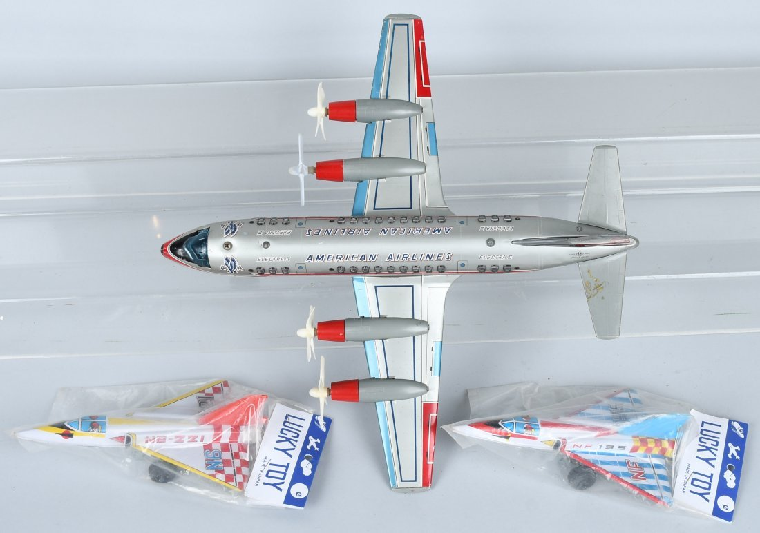 JAPAN AMERICAN AIRLINES TIN B.O. AIRPLANE & MORE