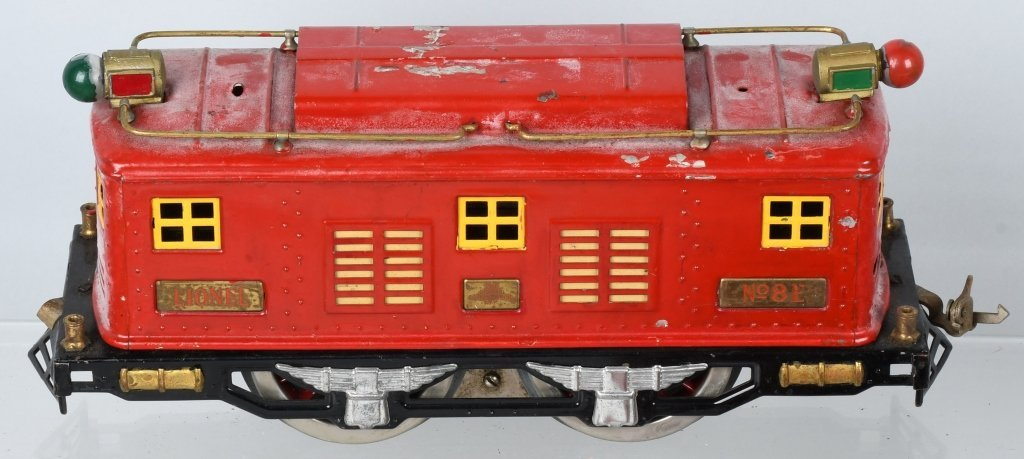 LIONEL STANDARD GAUGE #8E ENGINE & 5 CARS - 3