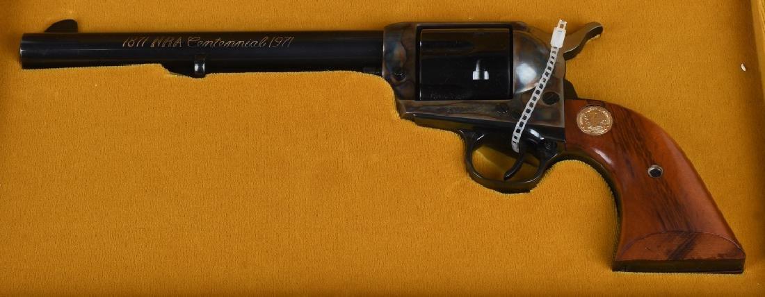 COLT SAA .45 NRA CENTENNIAL REVOLVER, BOXED - 9