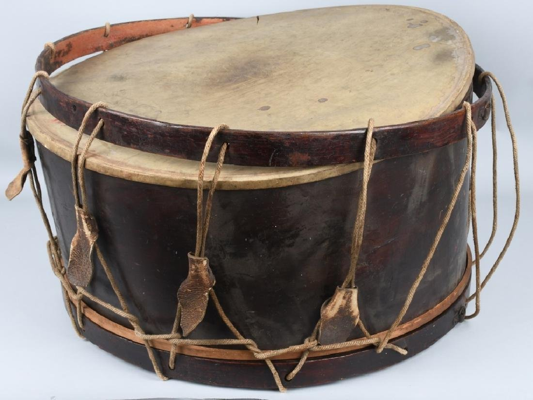 PRE CIVIL WAR - CIVIL WAR PERIOD BASS TACK DRUM - 5