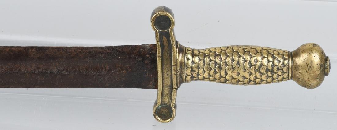 CIVIL WAR CONFEDERATE SHORT ARTILLERY SWORD - 8