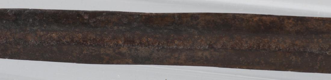 CIVIL WAR CONFEDERATE SHORT ARTILLERY SWORD - 9