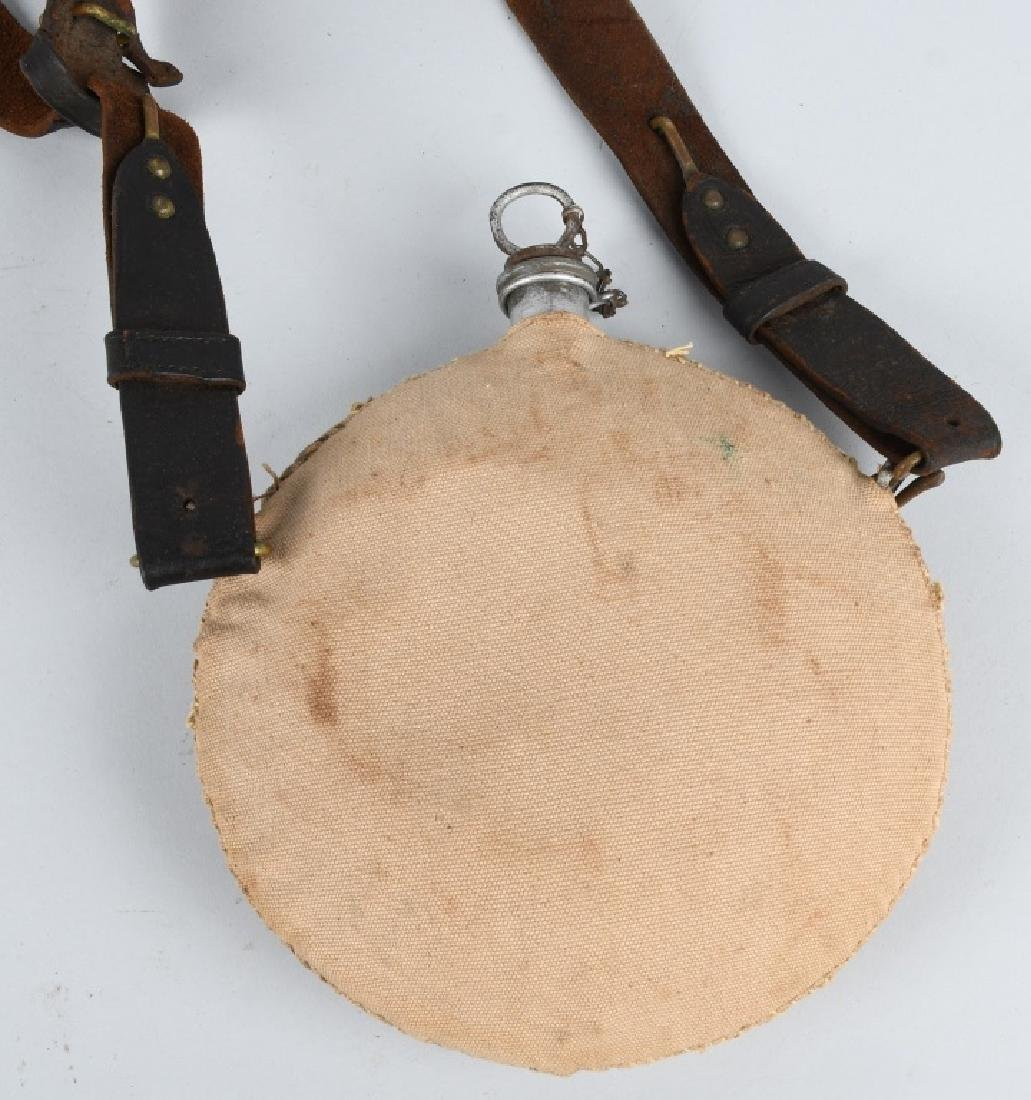 SPANISH AMERICAN WAR CANTEEN & BELT - 3