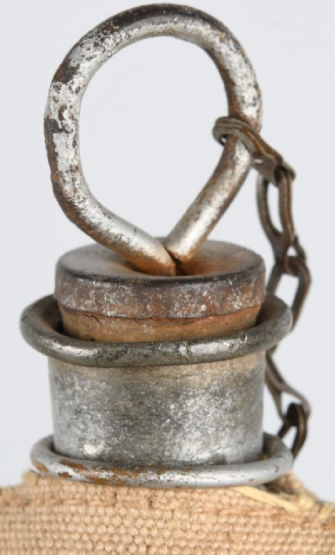 SPANISH AMERICAN WAR CANTEEN & BELT - 4