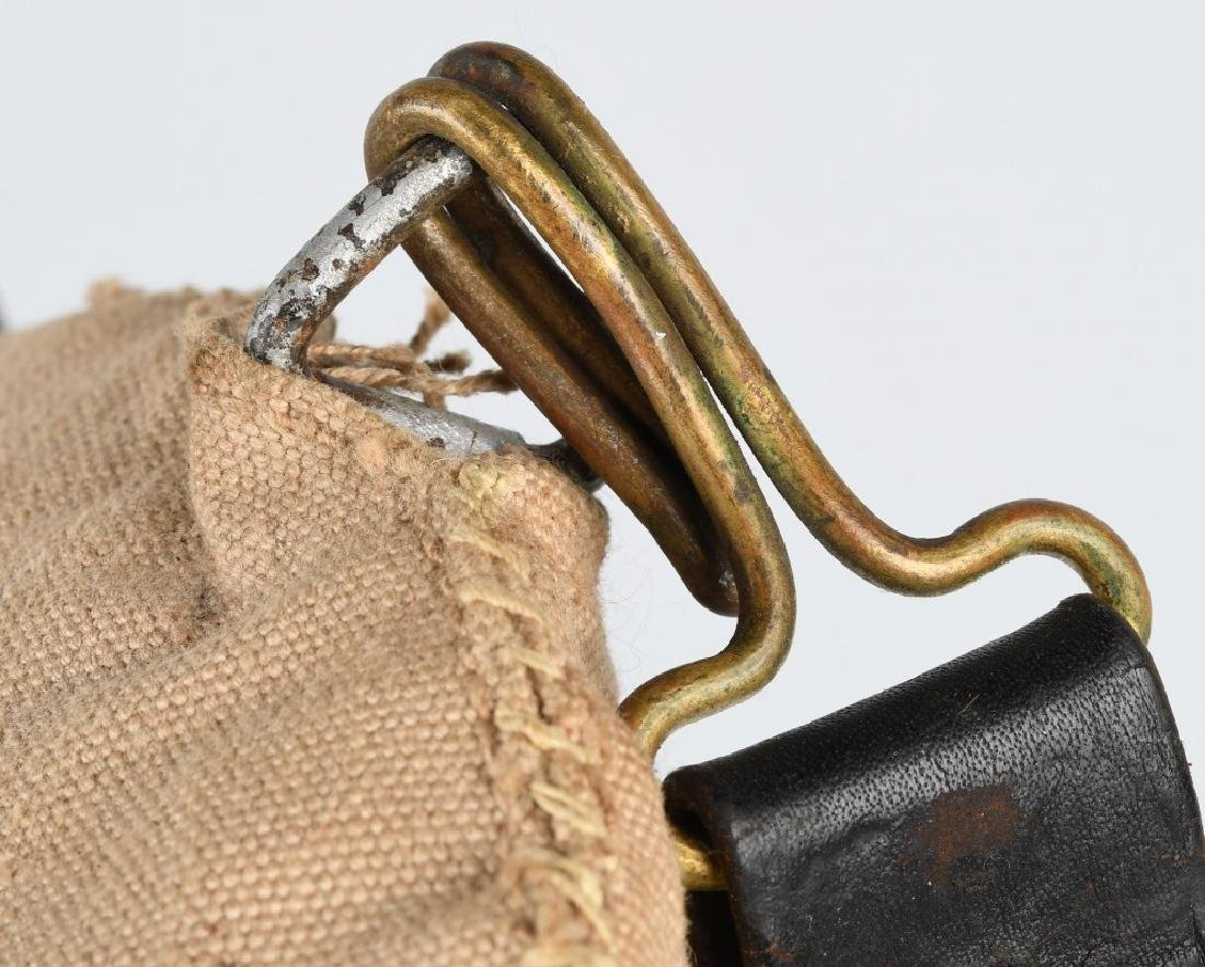 SPANISH AMERICAN WAR CANTEEN & BELT - 5