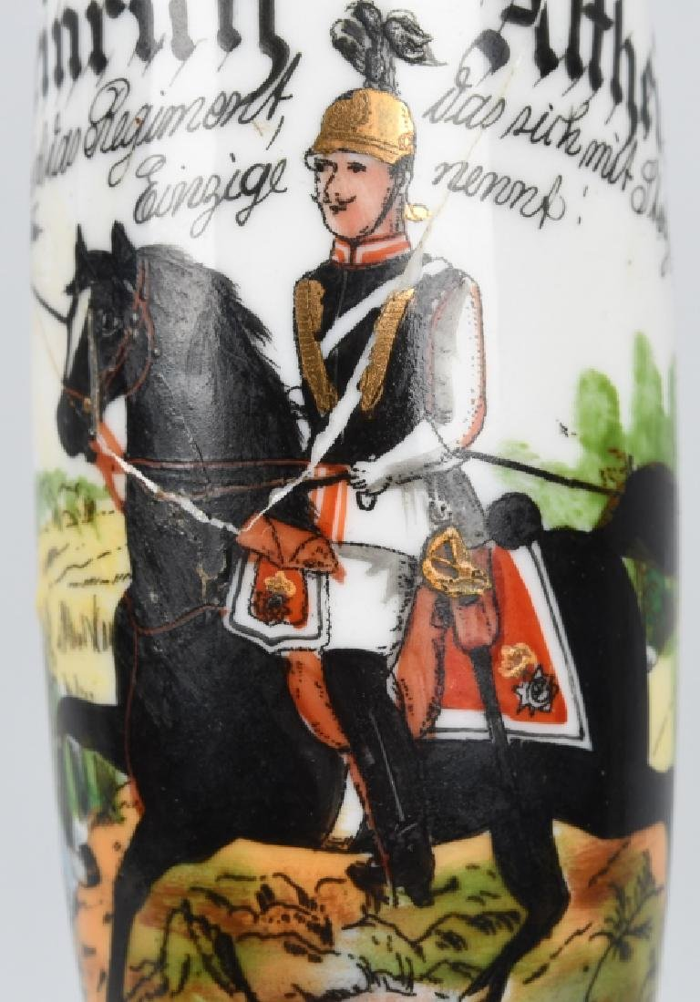 IMPERIAL GERMAN REGT PIPE BOWL - 3RD HUSSARS - 6