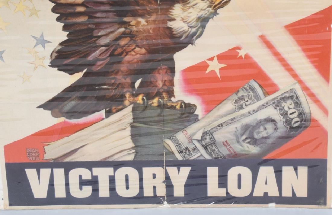 WWII VICTORY LOAN POSTER - DEAN CORNWELL - 4