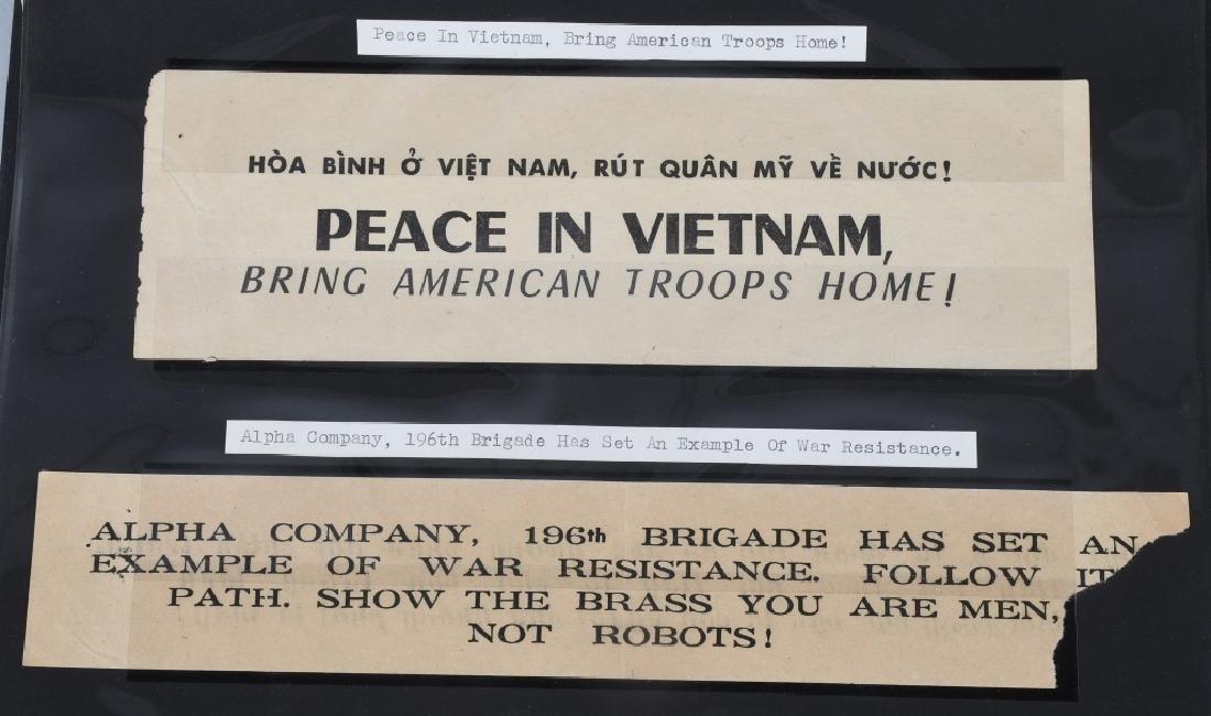 VIETNAM WAR - NORTH VIETNAMESE PROPAGANDA LEAFLETS - 10