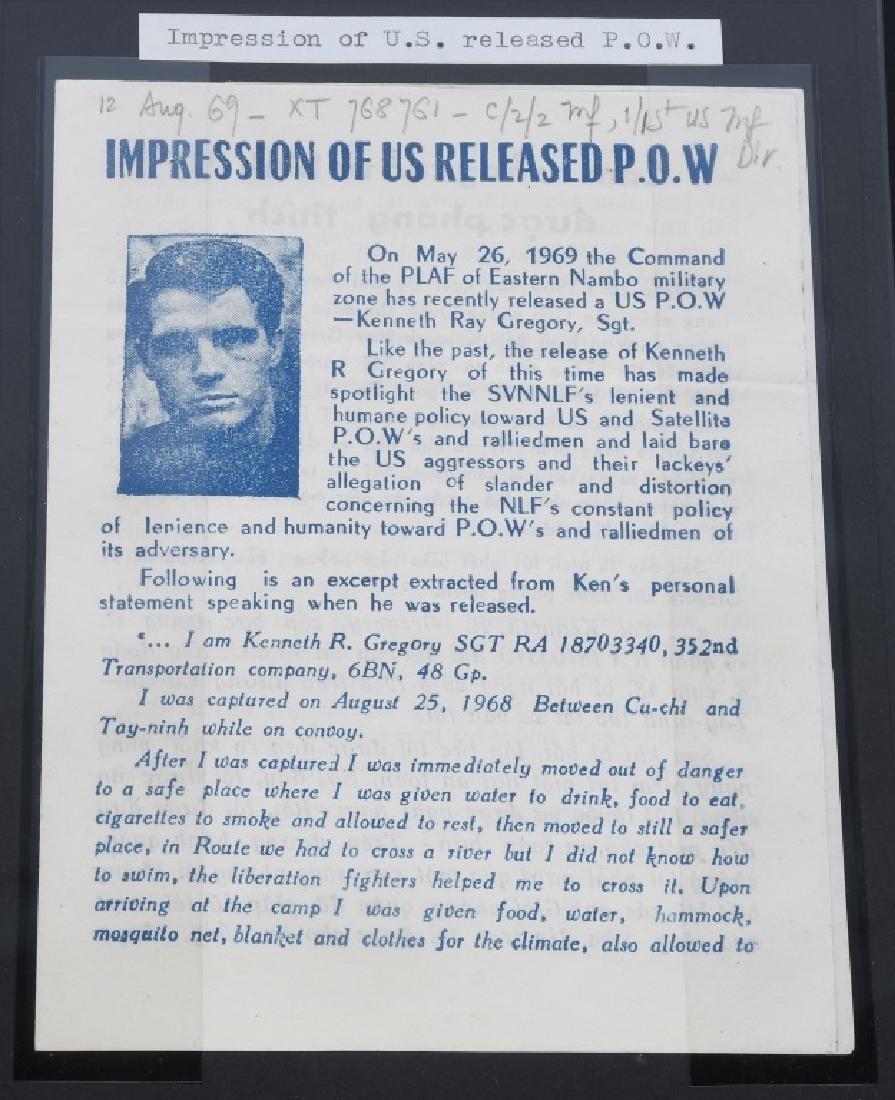 VIETNAM WAR - NORTH VIETNAMESE PROPAGANDA LEAFLETS - 8