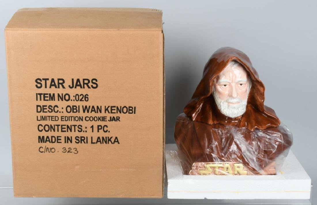 STAR JARS STAR WARS OBI WAN KENOBI LE COOKIE JAR