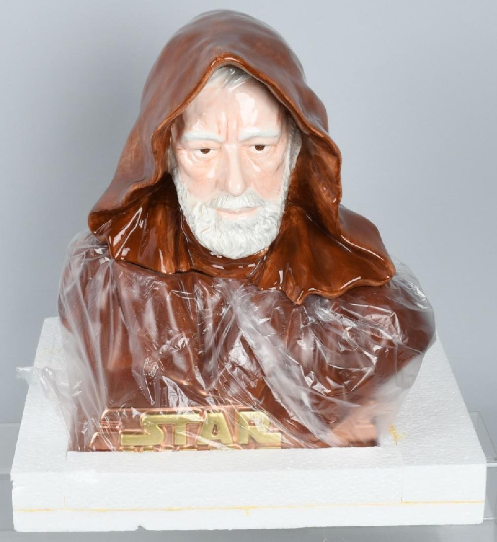 STAR JARS STAR WARS OBI WAN KENOBI LE COOKIE JAR - 2