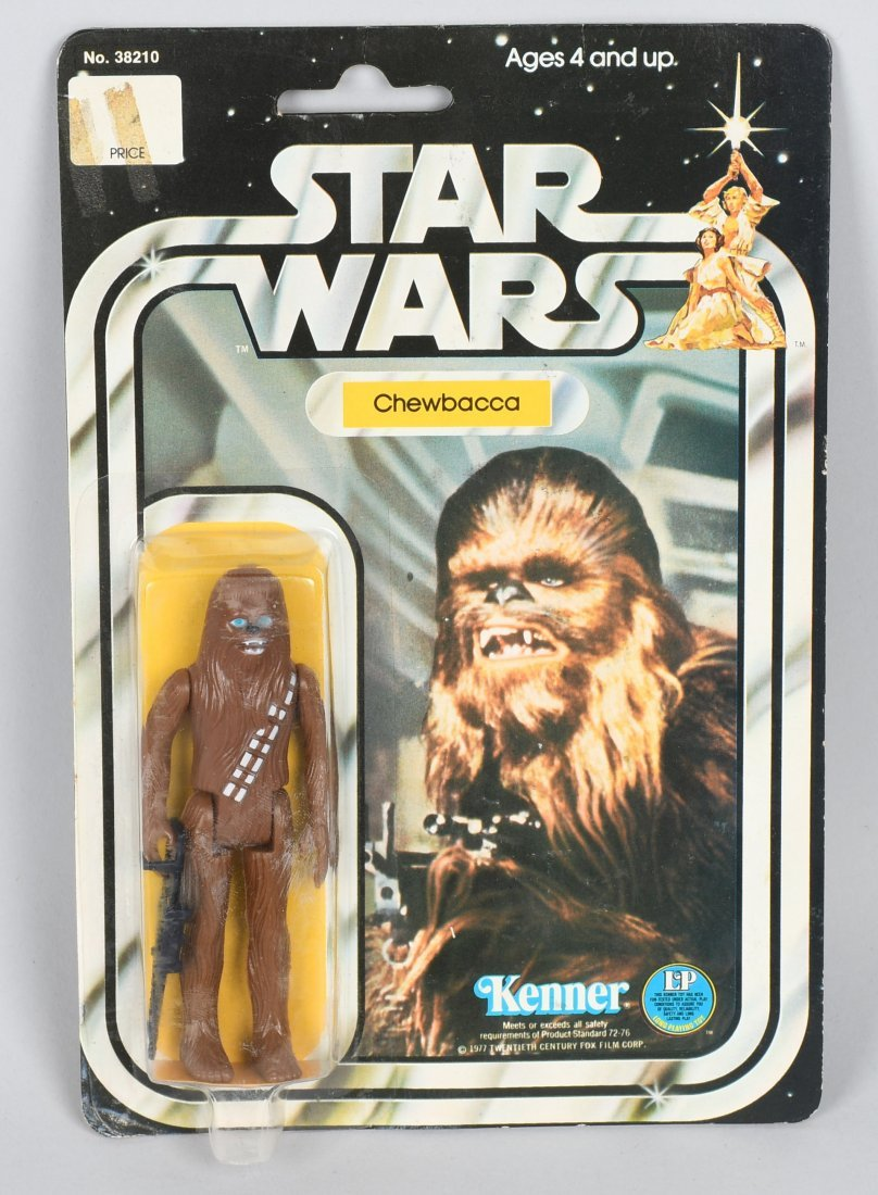 STAR WARS 12 BACK C CHEWBACCA ACTION FIGURE MOC