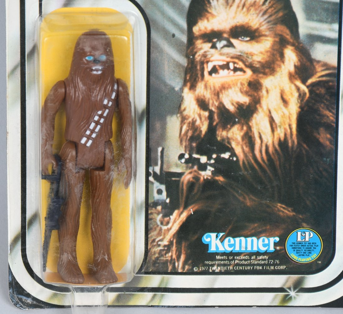 STAR WARS 12 BACK C CHEWBACCA ACTION FIGURE MOC - 2