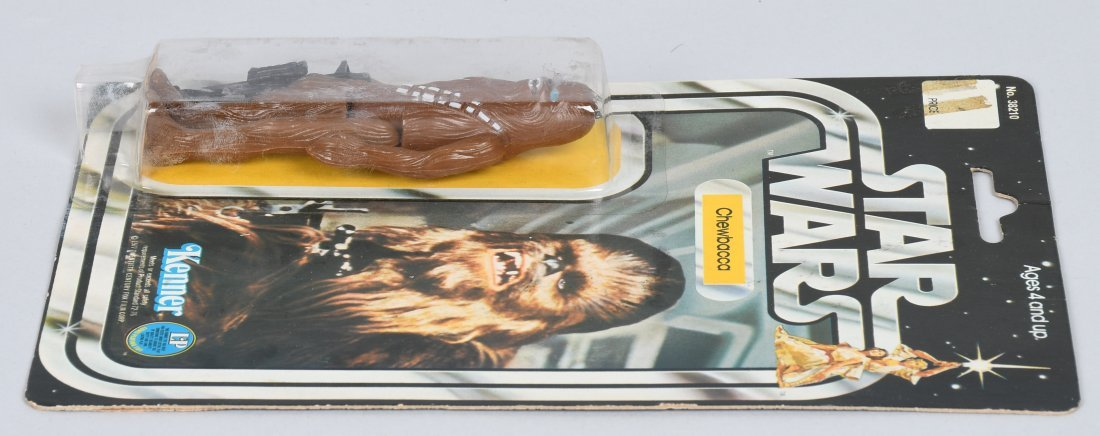 STAR WARS 12 BACK C CHEWBACCA ACTION FIGURE MOC - 4