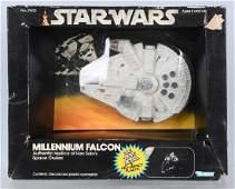 STAR WARS Diecast MILLENNIUM FALCON w BOX