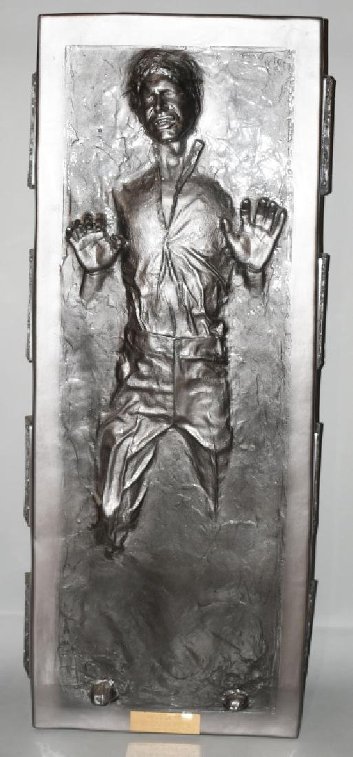 "80"" LIFESIZE HAN SOLO IN CARBONITE PROP STATUE"