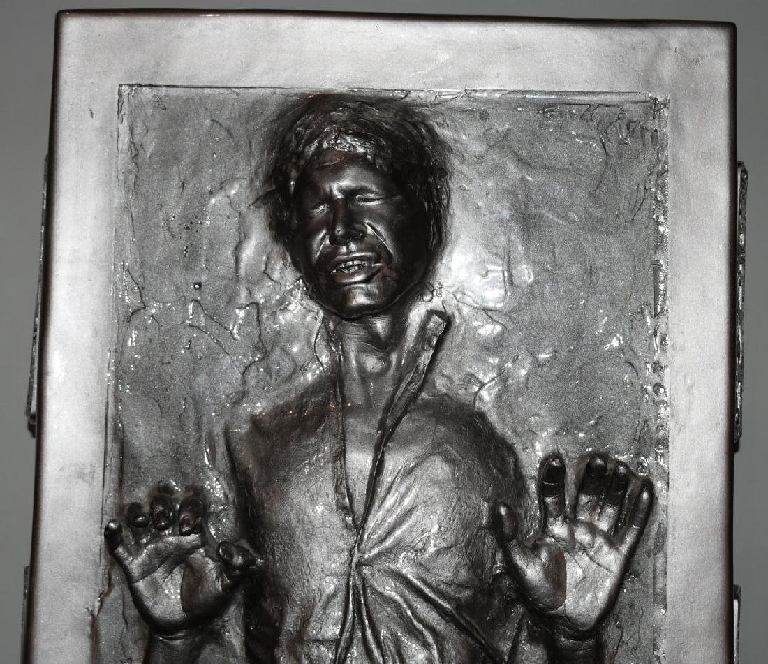 "80"" LIFESIZE HAN SOLO IN CARBONITE PROP STATUE - 2"